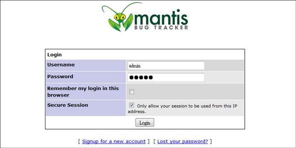 Mantis asustor NAS App