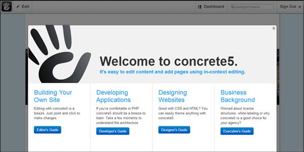 concrete5 asustor NAS App