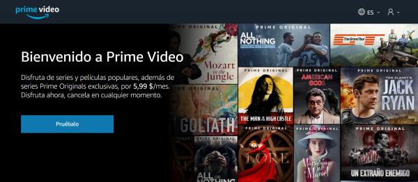 Amazon Prime ES asustor NAS App