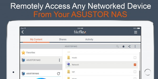 FileFlex Connector asustor NAS App