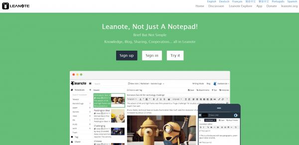 Leanote asustor NAS App
