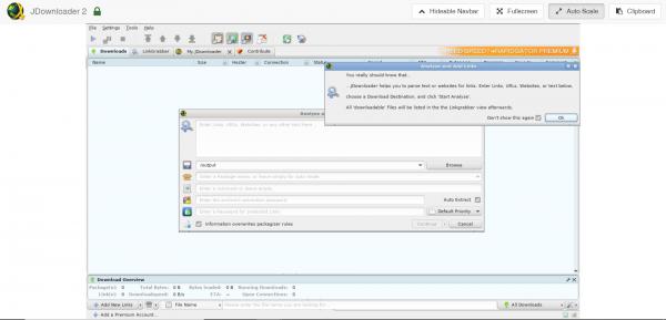 JDownloader 2 asustor NAS App