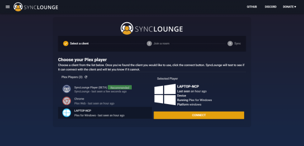 SyncLounge asustor NAS App