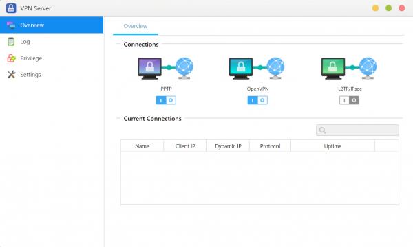VPN Server asustor NAS App