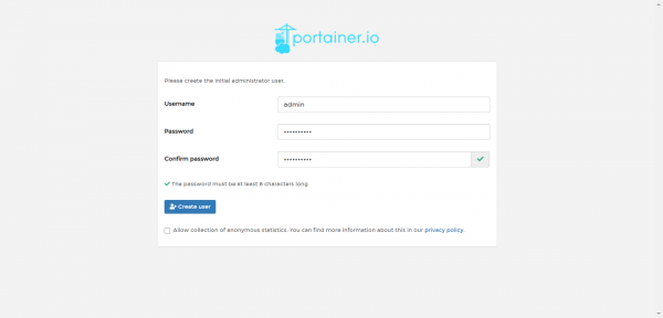 Portainer CE asustor NAS App