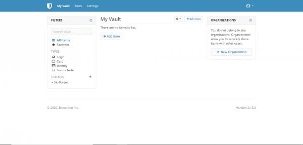 Bitwarden-MariaDB asustor NAS App